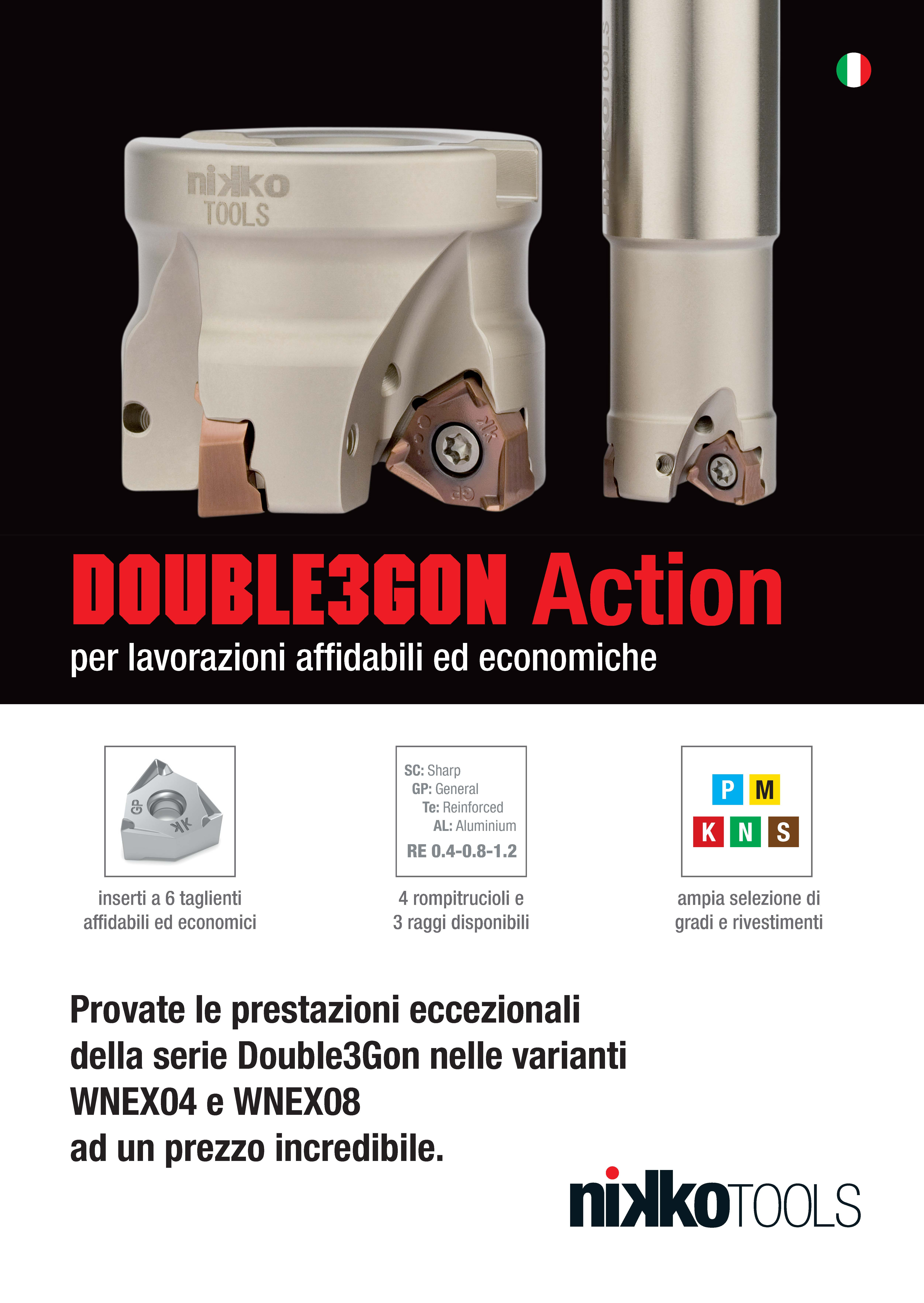 Nikko Tools Double3Gon Action 2020