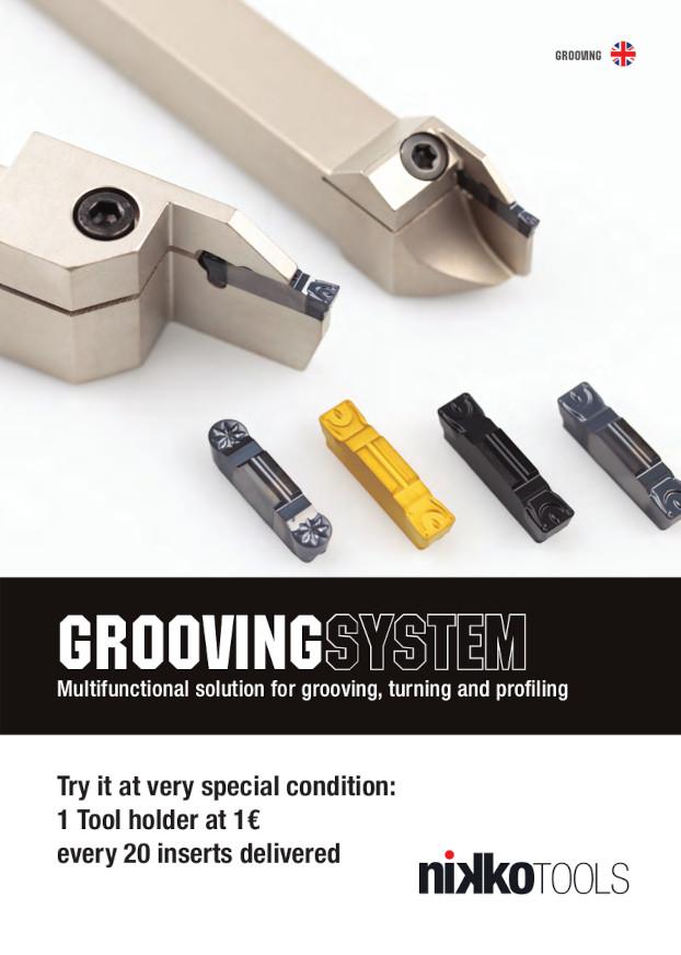 Nikko Tools Grooving System