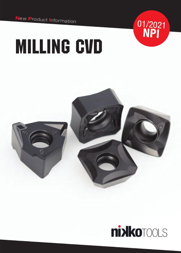 Nikko Tools Milling CVD